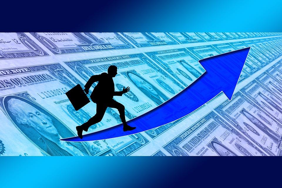 finanční vzestu