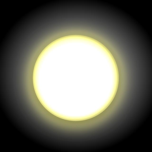 žár slunce