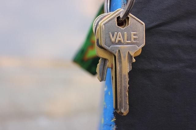klíče od dveří