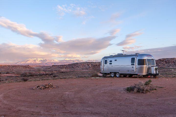 mobilní dům pouštní